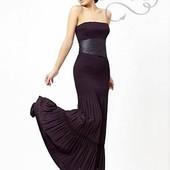 Шикарное платье в пол плотное М-Л