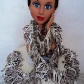 Фирменный шарф длина 150 см