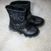 Демисезонные ботинки р-р 25 стелька 16см