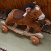 лошадка kiddieland