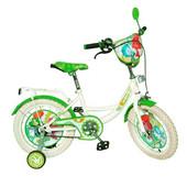 Велосипед Фиксики 12 с белыми колесами двухколесный детский с лицензией