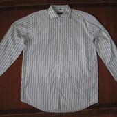 Supreme (разм. XL) натуральная рубашка мужская