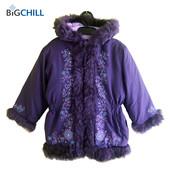 Курточка зимняя с меховой опушкой на 5-6 лет, Big Chill Америка