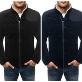 Куртка мужская зимняя вельветовая