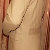Пиджак-френч горчичного цвета офисного стиля на мужчину - 50 размер