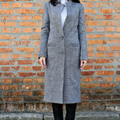 Стильное, супермодное пальто Твид-длинное! Супер цена!