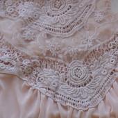 Кремовая блуза-топ с вышивкой 10 размер Atmosphere