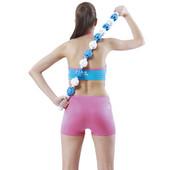Массажер-лента роликовый Massage Rope: 11 шариков, длина 98 см