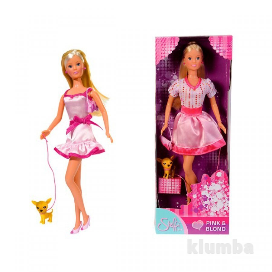 Распродажа - кукла steffi love со щенком от simba (германия) фото №1