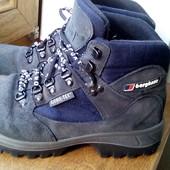 Дешевле!!!Замшевые ботинки на осень-зиму Berghaus, 25,5 cм, Gore-tex