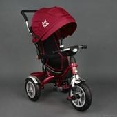 Детский трехколесный велосипед Best Trike 5388 красный