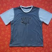 7-8 лет Спортивная футболка Rebel, б/у. В очень хорошем состоянии, без пятен.