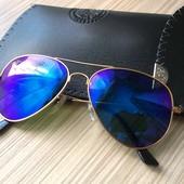 Новые очки Ray Ban c чехлом