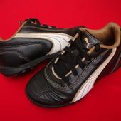 Кроссовки Puma Black n Gold оригинал 26-27 размер