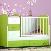 Детская кровать - трансформер Maya от Oris 3 в 1. Бесплатная доставка по Киеву, Бесплатная сборка