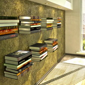 Волшебные полки-невидимки для книг