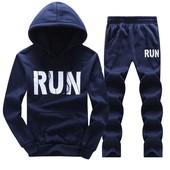 Тёплый спортивный костюм для бега