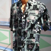 Рубашка , новая, штапель, р. 46-48