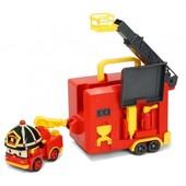Robocar Poli Набор: Трансформер Рой с гаражом