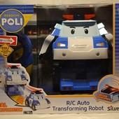 Оригинал Robocar Poli Поли на радиоуправлении 18 см