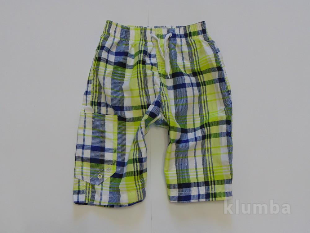 Мега модные яркие шорты в клетку от st. bernard для мальчика, размер 7 лет, состояние новой вещи фото №1