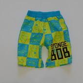 Мега модны яркие шорты Nickelodeon для мальчика, размер 2-3 года, состояние новой вещи, не ношенные.