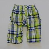 Мега модные яркие шорты в клетку от St. Bernard для мальчика, размер 7 лет, состояние новой вещи