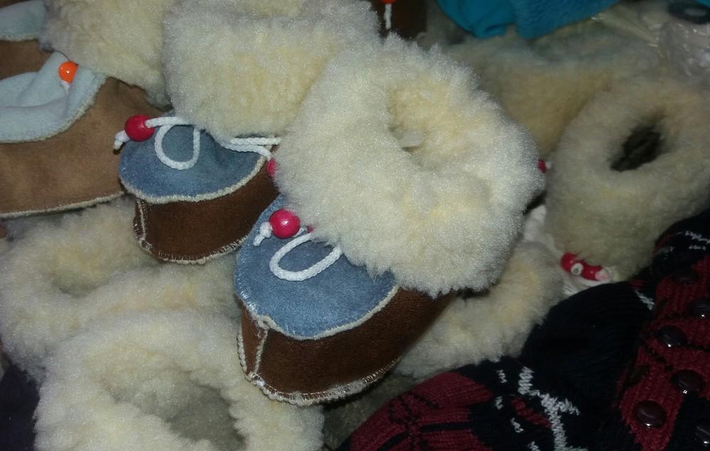 Детские зимние пинетки-валенки девочкам и мальчикам от полугода до 46 размера фото №4