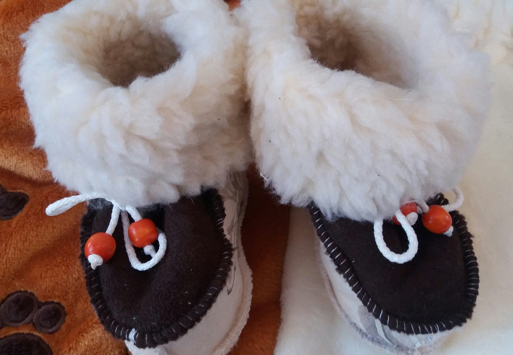 Детские зимние пинетки-валенки девочкам и мальчикам от полугода до 46 размера фото №5