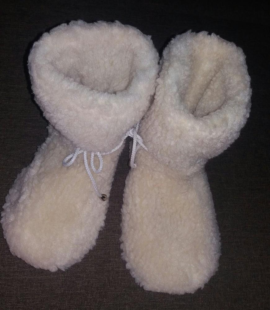 Детские зимние пинетки-валенки девочкам и мальчикам от полугода до 46 размера фото №8