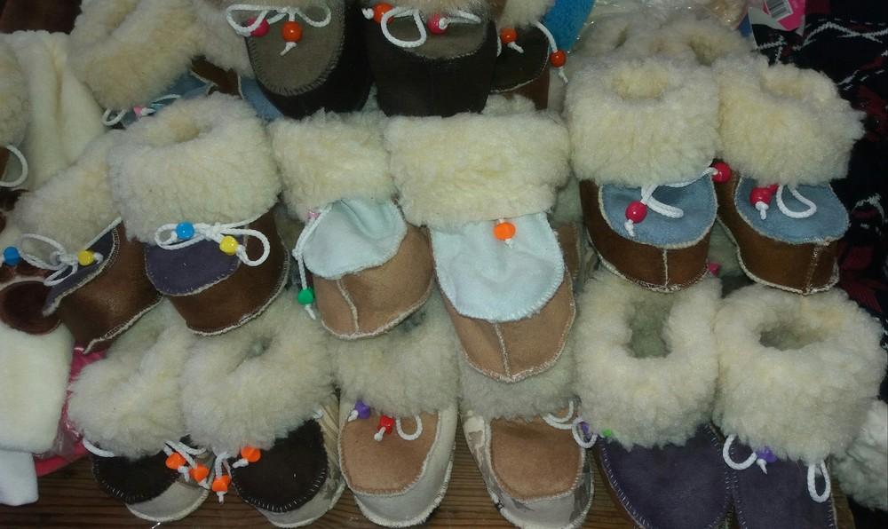 Детские зимние пинетки-валенки девочкам и мальчикам от полугода до 46 размера фото №2
