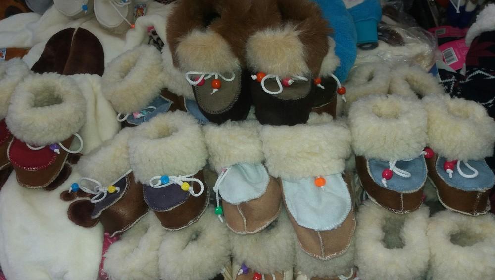 Детские зимние пинетки-валенки девочкам и мальчикам от полугода до 46 размера фото №1