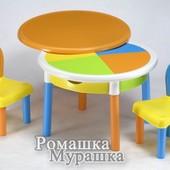 Комплект столик и стульчик Okragly Tega