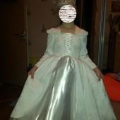 Прокат костюма Снігової королеви (снежной королевы), Зими, Сніжинки на 5-8 років - Позняки