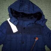 курточка на меху зима на рост 116-140