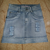 Продам джинсовую юбку 25 размер