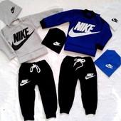 Замечательные недорогие теплые костюмчики Nike