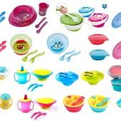 Детская посуда BabyOno мисочки, тарелочки бебиона