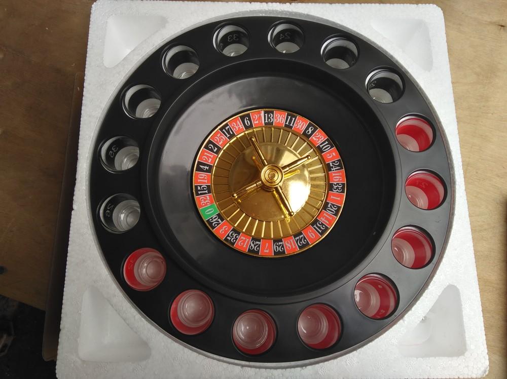 Алкорулетка, настольная алко игра рулетка, на 16рюмок, отличный подарок другу фото №1