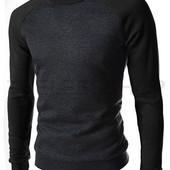 Стильный свитер - свитшот Black. Производства Украина