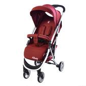 Прогулочная коляска carello gloria (crl-8506 Rose Red) со съемным бампером