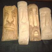 Маски из дерева ручная работа. Много вариантов