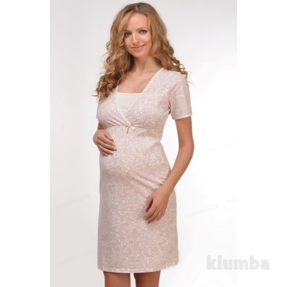 Ночная рубашка для кормления сорочка для беременных и кормящих мам фото №1 0d70fbe33ec