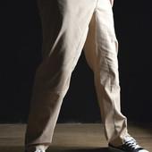 Стильные дизайнерские штаны Бежевые. Производства Украина