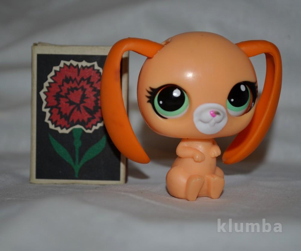 Пет шопы pet shop игрушки зоомагазин littlest pet shop lps кролик зайка зайчик фото №1