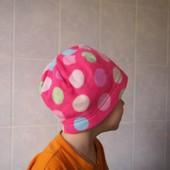Флисовая шапка на 4-8 лет, б/у. Хорошее состояние