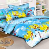 Детское (полуторное) постельное белье KrisPol (100%хлопок)