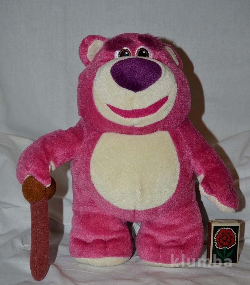 Мишка медведь lots-o-huggin лотсо disney pixar toy story история игрушек фото №1