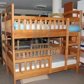 Акция! Двухъярусная кровать Карина ЭКО + ортопедические матрасы