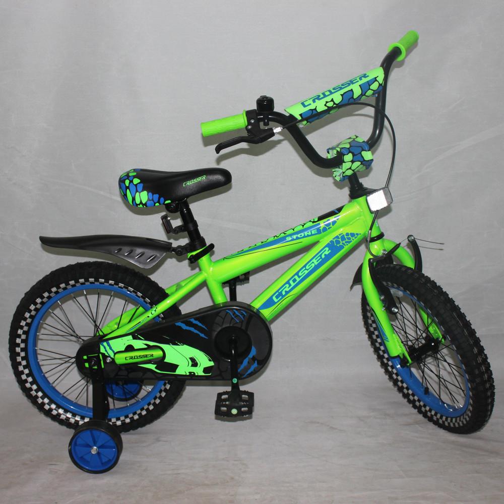 Кросер Стоун 14 16 18 20 Crosser Stone велосипед двухколесный детский фото №1